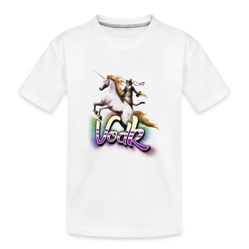 VodK licorne png - T-shirt bio Premium Ado
