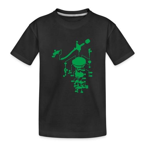 tonearm05 - Teenager premium biologisch T-shirt