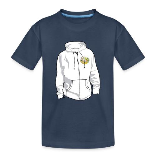 hoodyfront - Teenager premium biologisch T-shirt
