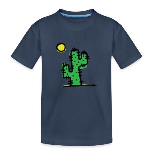 Cactus single - Maglietta ecologica premium per ragazzi