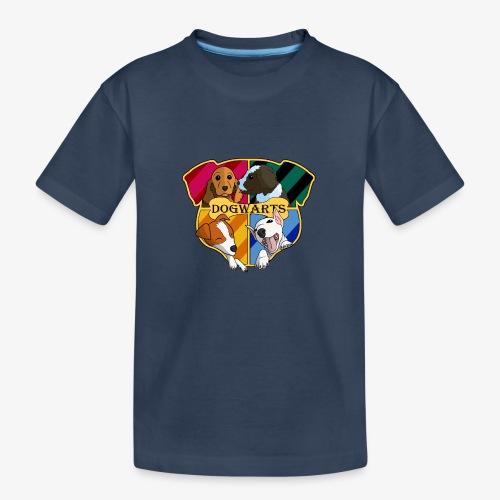 Dogwarts Logo - Teenager Premium Organic T-Shirt
