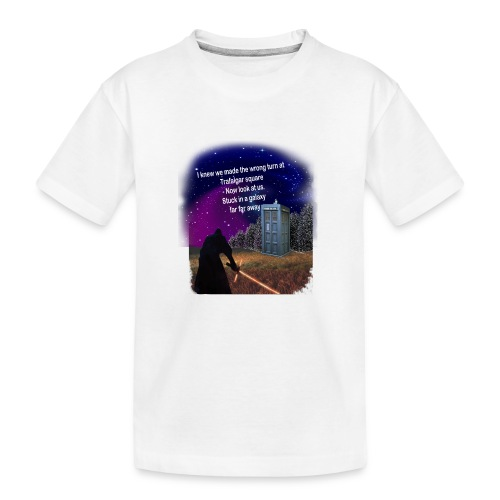 Bad Parking - Teenager Premium Organic T-Shirt