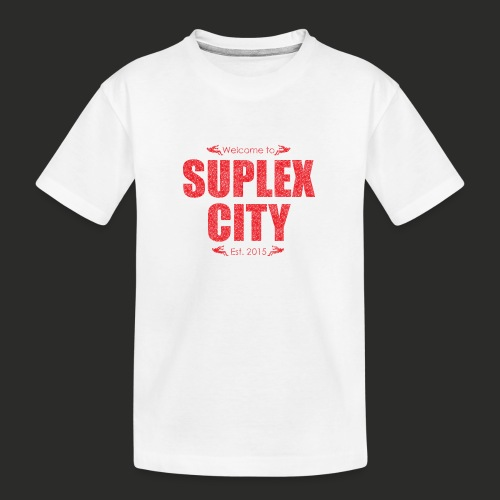 Suplex City Mens T-Shirt - Teenager Premium Organic T-Shirt