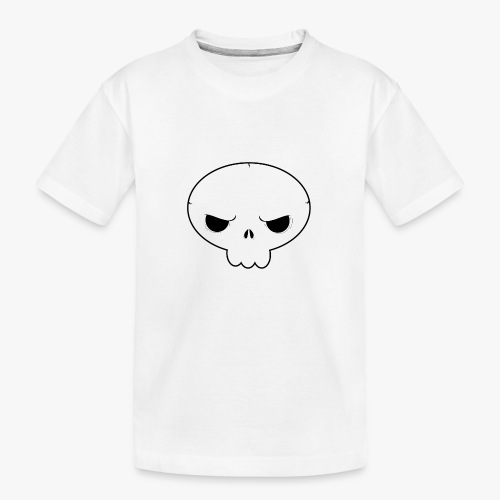 Skullie - Teenager premium T-shirt økologisk