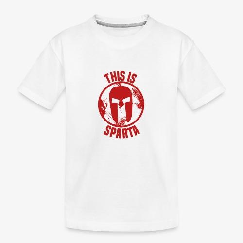 this is sparta - Teenager Premium Organic T-Shirt