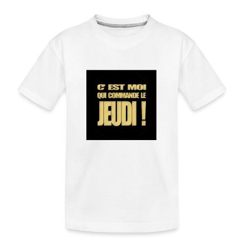 badgejeudi - T-shirt bio Premium Ado