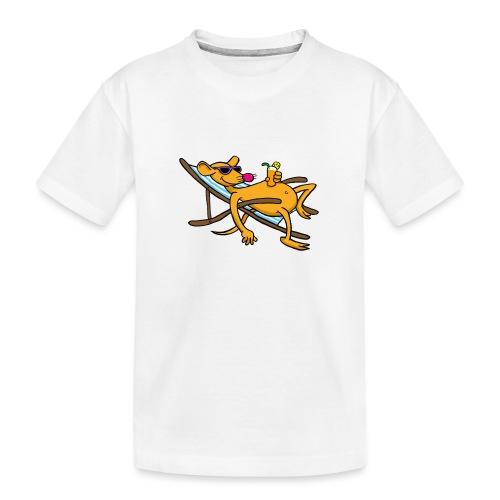 Summertime - Teenager Premium Bio T-Shirt