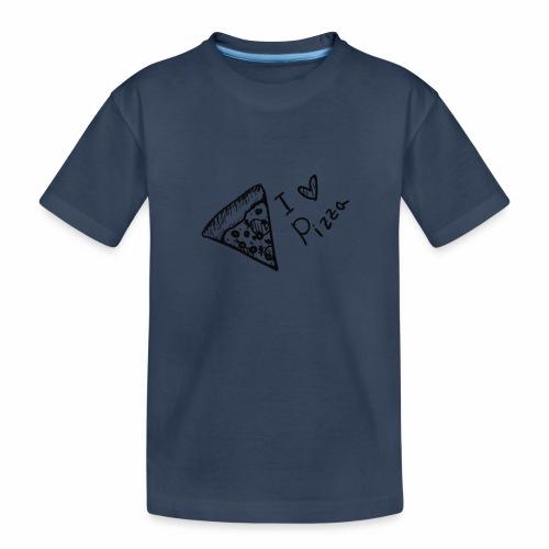I LOVE PIZZA - Teenager Premium Bio T-Shirt