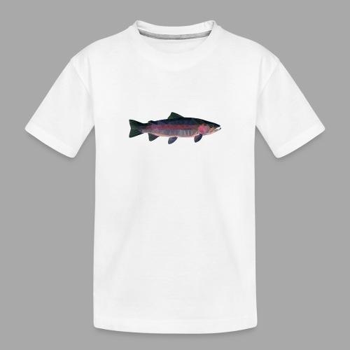 Trout - Teinien premium luomu-t-paita