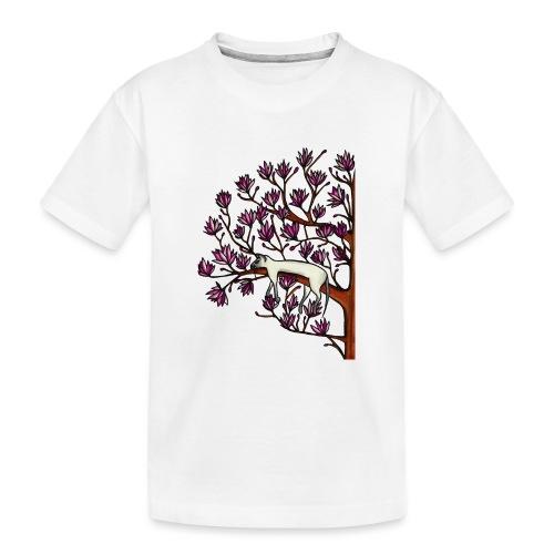 Magnolia - Ekologisk premium-T-shirt tonåring