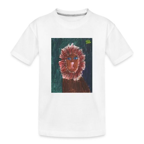 Lion T-Shirt By Isla - Teenager Premium Organic T-Shirt