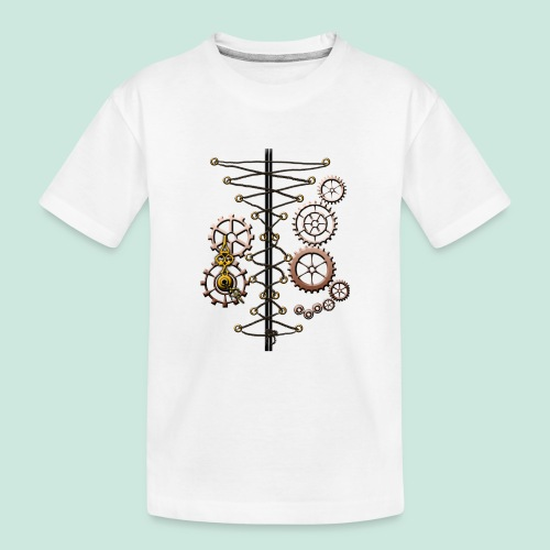corset and cogs - Teenager Premium Organic T-Shirt
