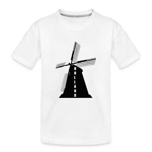 windmuehle Holland - Teenager Premium Bio T-Shirt