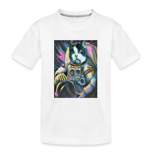 Gato Astronauta - Camiseta orgánica premium adolescente
