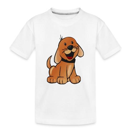 cartoon dog - Maglietta ecologica premium per ragazzi