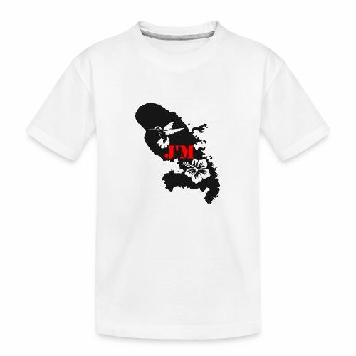 J'M La Martinique - T-shirt bio Premium Ado