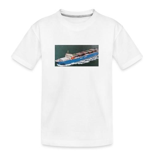Bell Pioneer jpg - Teenager premium biologisch T-shirt