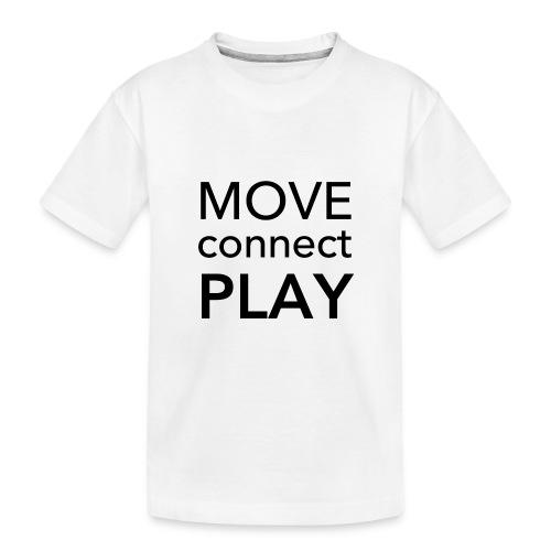 Move Connect Play - AcroYoga International - Teenager Premium Organic T-Shirt