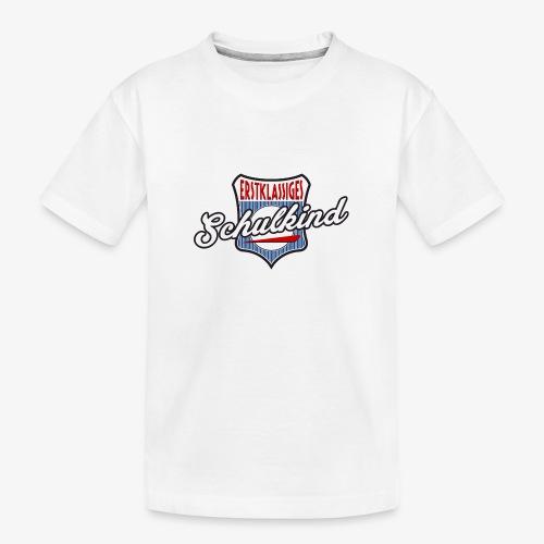 Erstklassiges Schulkind 1 - Teenager Premium Bio T-Shirt