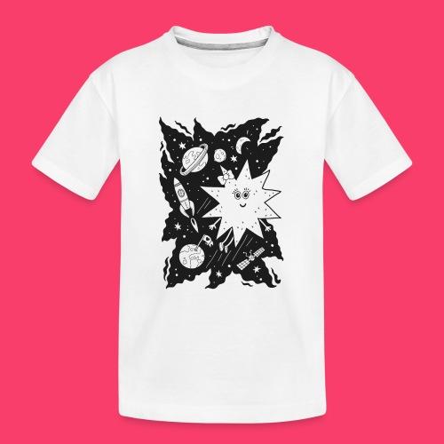 Stella Stern zum Ausmalen - Teenager Premium Bio T-Shirt