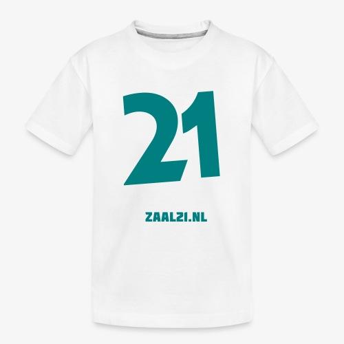 zaal-achterkant - Teenager premium biologisch T-shirt