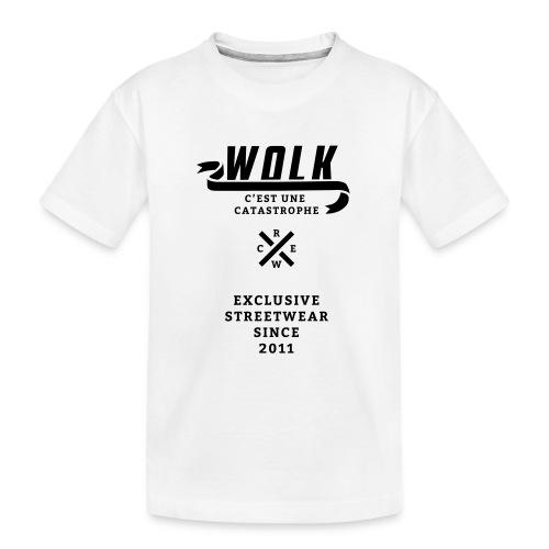 varsityx04 - Teenager premium biologisch T-shirt