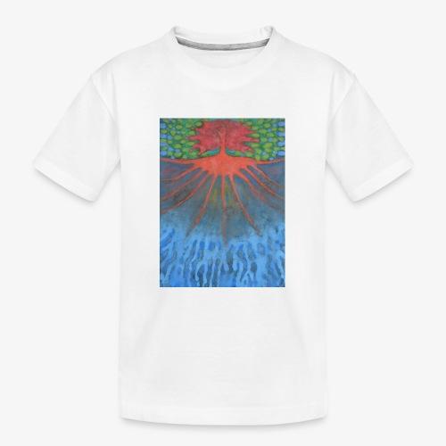 Drzewo Źycia - Ekologiczna koszulka młodzieżowa Premium
