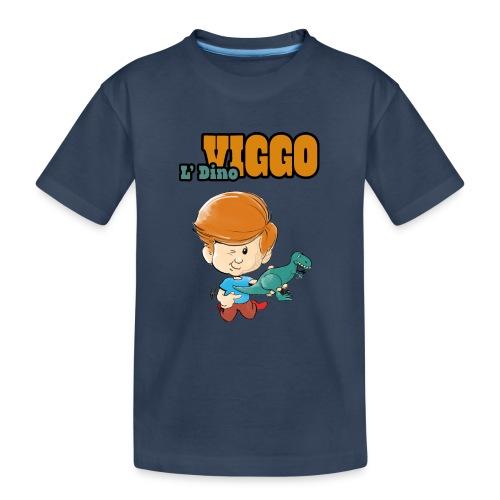 LDinoViggo Logo total - Teenager premium T-shirt økologisk