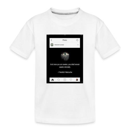 81F94047 B66E 4D6C 81E0 34B662128780 - Teenager Premium Organic T-Shirt