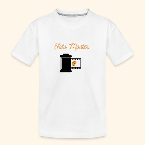 Foto Master 2nd - Teenager premium T-shirt økologisk