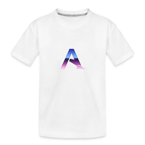 logga 3 - Ekologisk premium-T-shirt tonåring