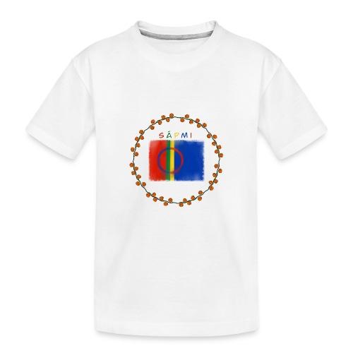 Sapmi - Premium økologisk T-skjorte for tenåringer