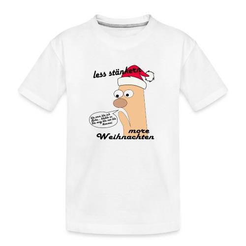 more Weihnachten - Teenager Premium Bio T-Shirt