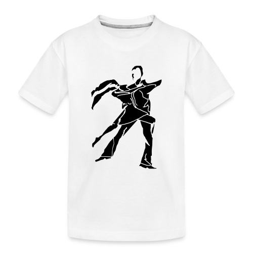 dancesilhouette - Teenager Premium Organic T-Shirt