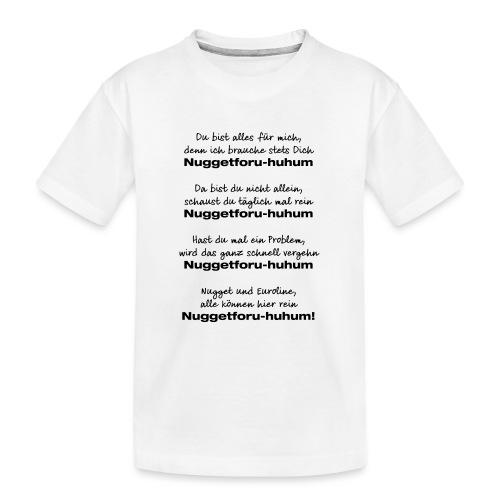 Du bist alles für mich - Teenager Premium Bio T-Shirt