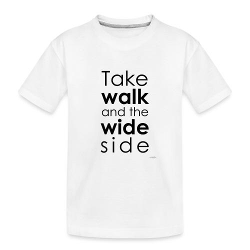 LOU-REDD-walk-black - T-shirt bio Premium Ado