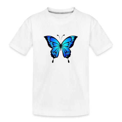 Mariposa - Camiseta orgánica premium adolescente