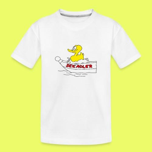 Seeadler_rot - Teenager Premium Bio T-Shirt