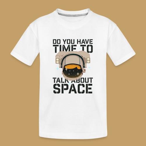 Time for Space - Ekologiczna koszulka młodzieżowa Premium