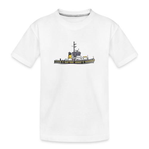 Schlepper Schleppschiff c - Teenager Premium Bio T-Shirt