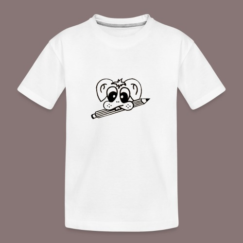 mister rabbitissimo school - Teenager Premium Bio T-Shirt