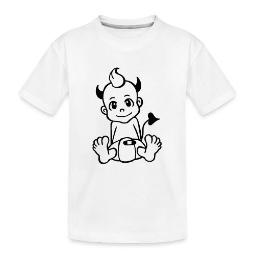 Kleiner Teufel - Teenager Premium Bio T-Shirt