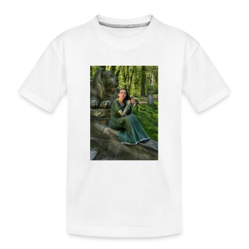 Stone Guardian - Ekologiczna koszulka młodzieżowa Premium