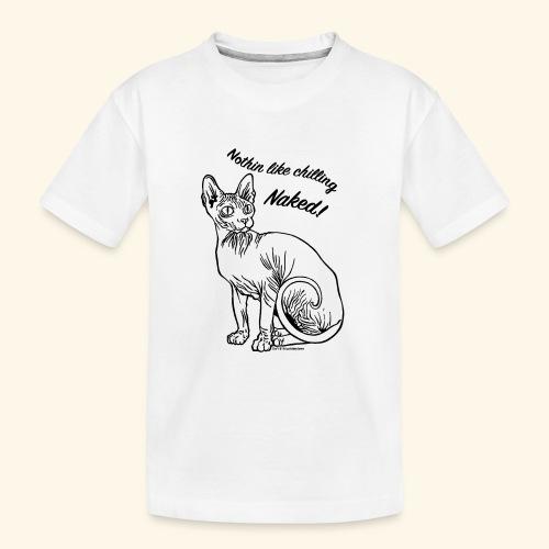 sushinaked - Maglietta ecologica premium per ragazzi