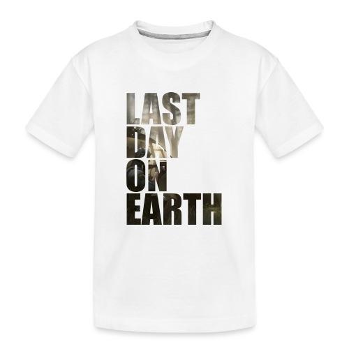 Último día en la tierra - Camiseta orgánica premium adolescente