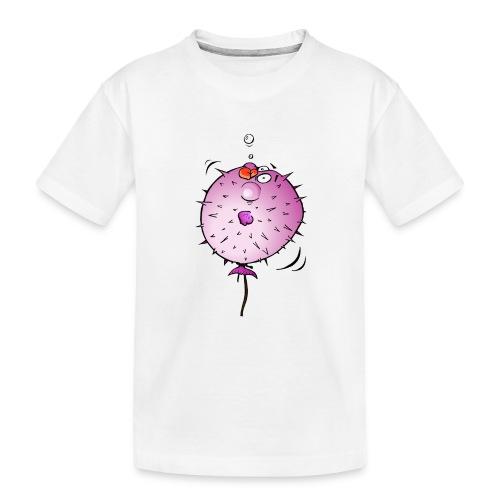 Blaasvis - Teenager premium biologisch T-shirt