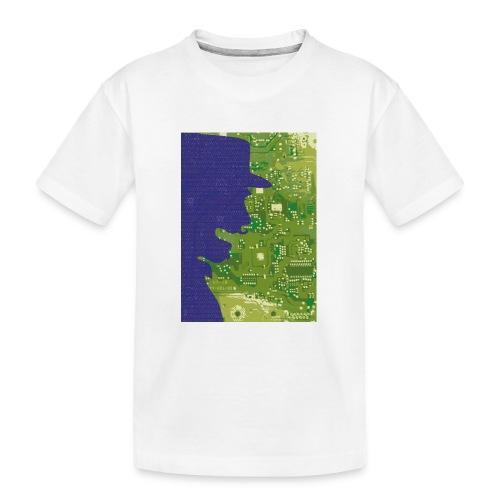 Rinus Van De Melkwegboer - Teenager premium biologisch T-shirt