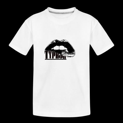 Typhon Original Logo - Teenager Premium Organic T-Shirt