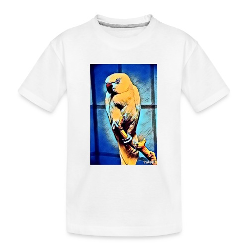 Bird in color - Teinien premium luomu-t-paita