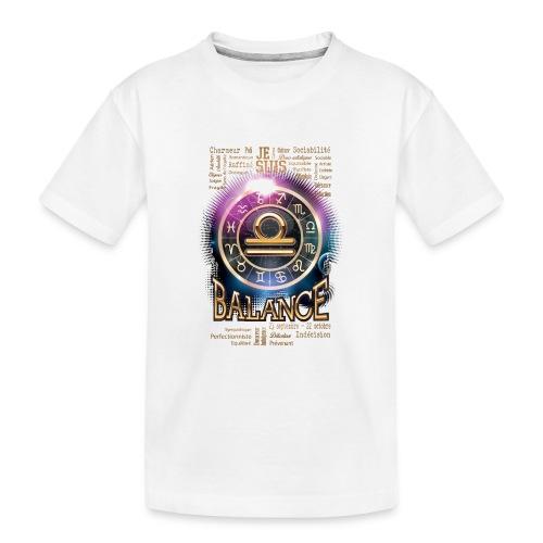 BALANCE - T-shirt bio Premium Ado